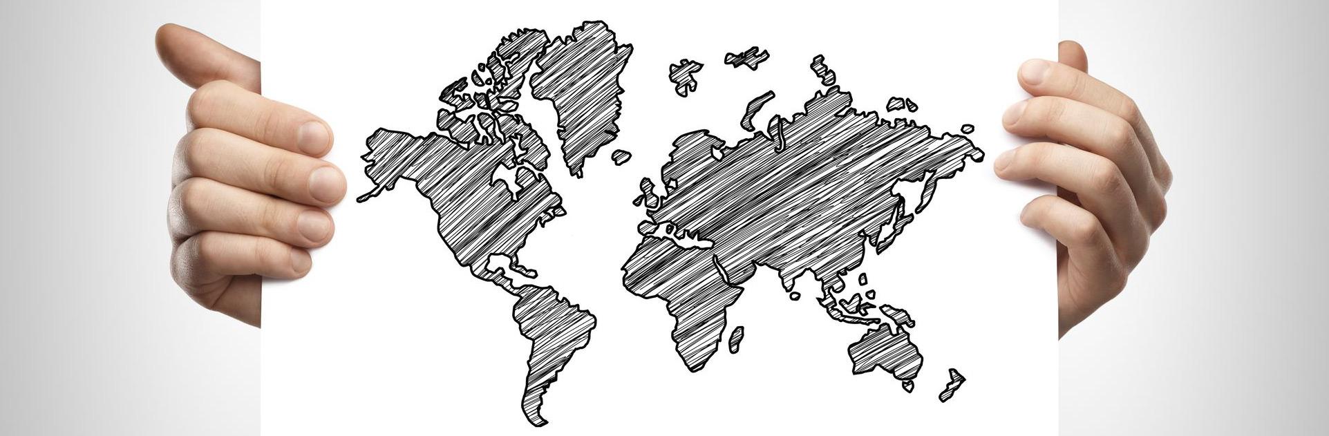 Top image la carte du monde