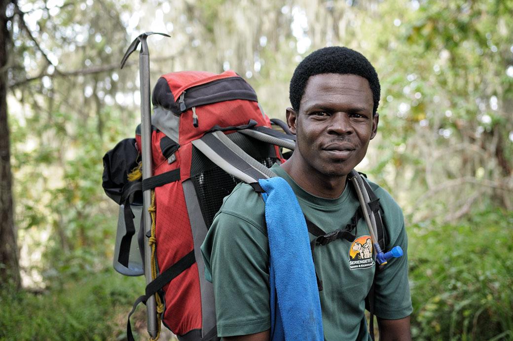 Dismas Agger, guide du Kilimandjaro, Tanzanie