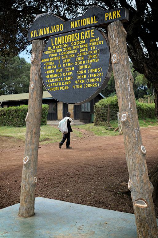 La porte de Londorosi au Kilimandjaro, Tanzanie