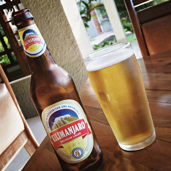 Bière Kilimanjaro Premium Lager, Tanzanie
