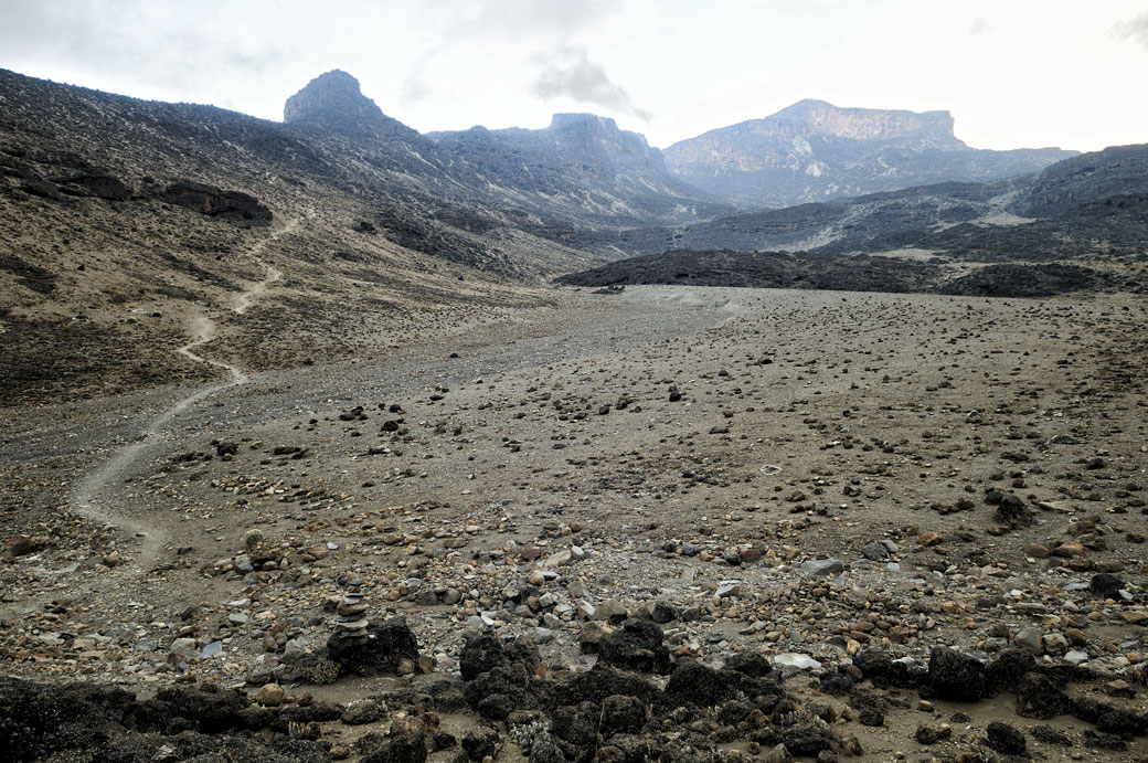Sentier pour Buffalo Camp depuis Moir Hut, Tanzanie