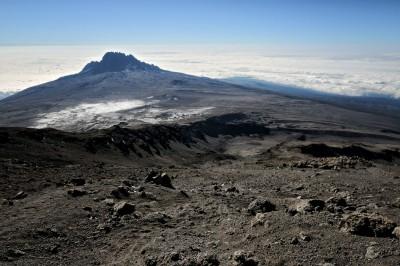 Mont Mawenzi dans le massif du Kilimandjaro, Tanzanie