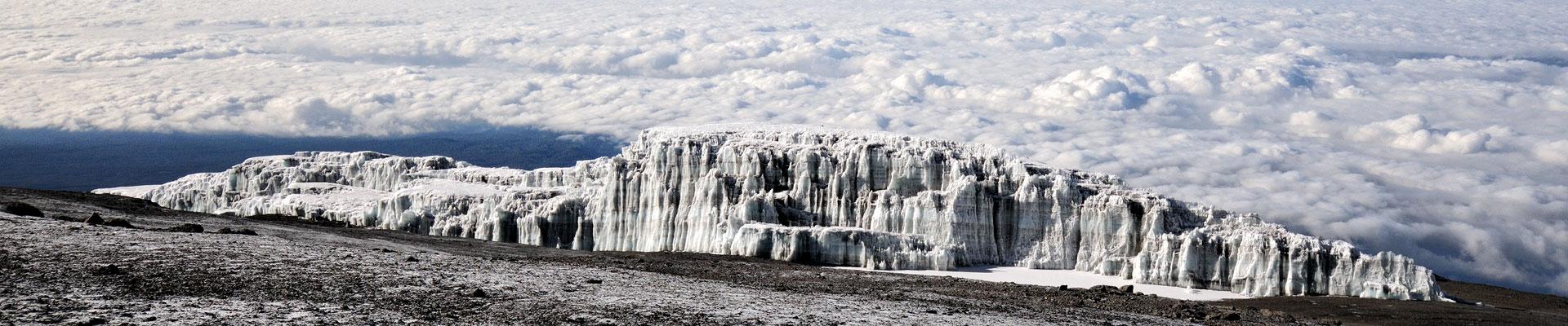Top image champ de glace Sud Kilimandjaro