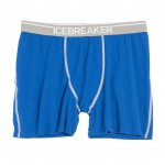 Icebraker Anatomica Boxer bleu