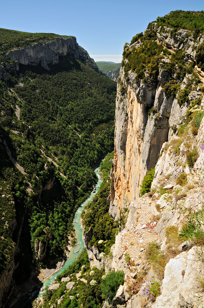 Belvédère de Trescaïre dans les Gorges du Verdon, France