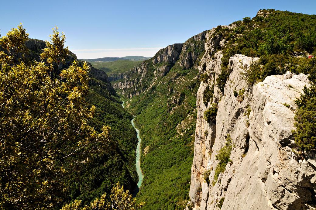 Belvédère de la Carelle dans les Gorges du Verdon, France