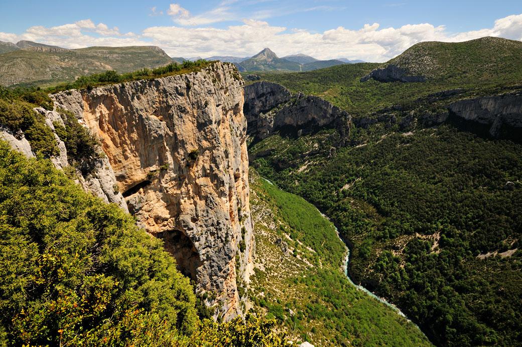 Belvédère de l'Escalès dans les Gorges du Verdon, France