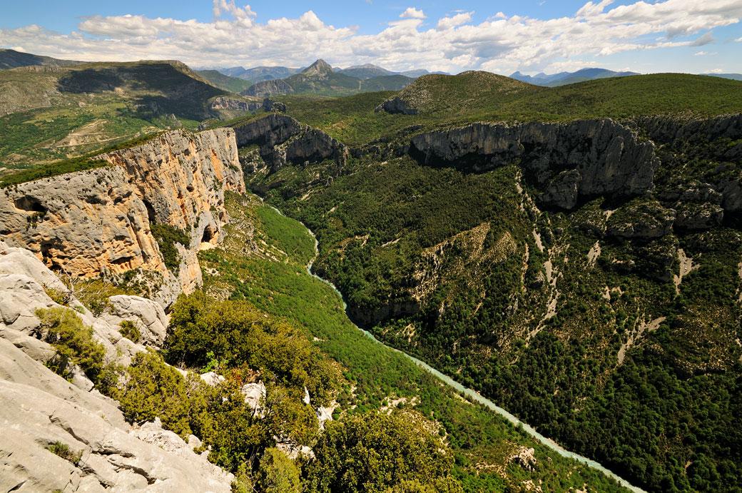 Belvédère de la Dent d'Aire dans les Gorges du Verdon, France