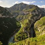 France : Les Gorges du Verdon par la D23 et le sentier de l'Imbut