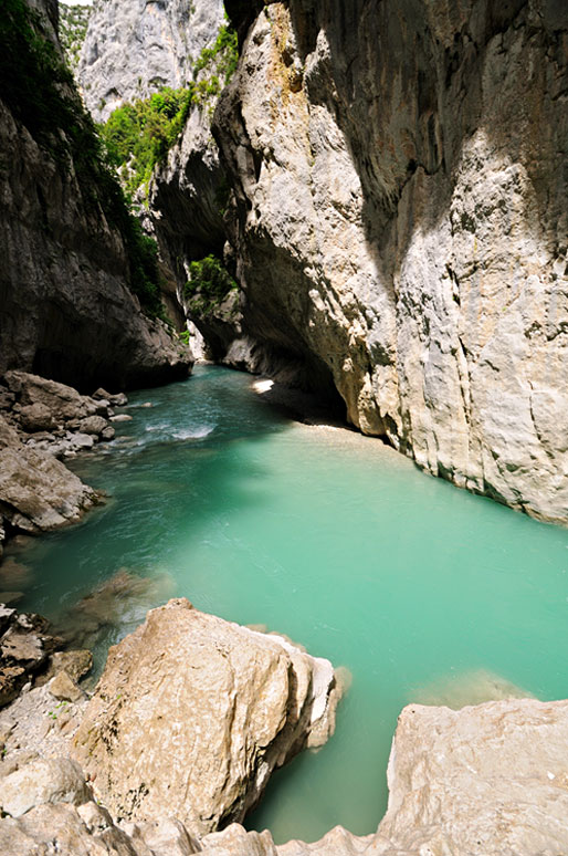 L'étroit du Baou Béni des Gorges du Verdon, France