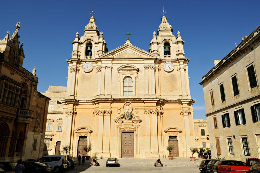 Cathédrale Saint-Pierre-et-Saint-Paul de Mdina, Malte