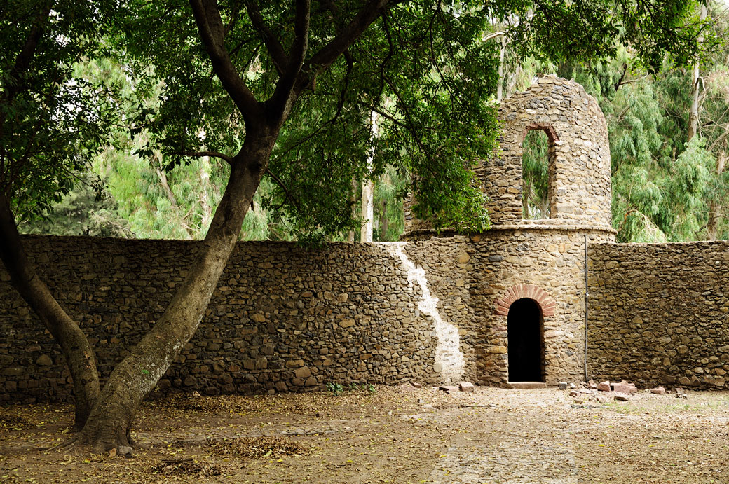 Muraille aux bains de Fasiladas de Gondar, Ethiopie