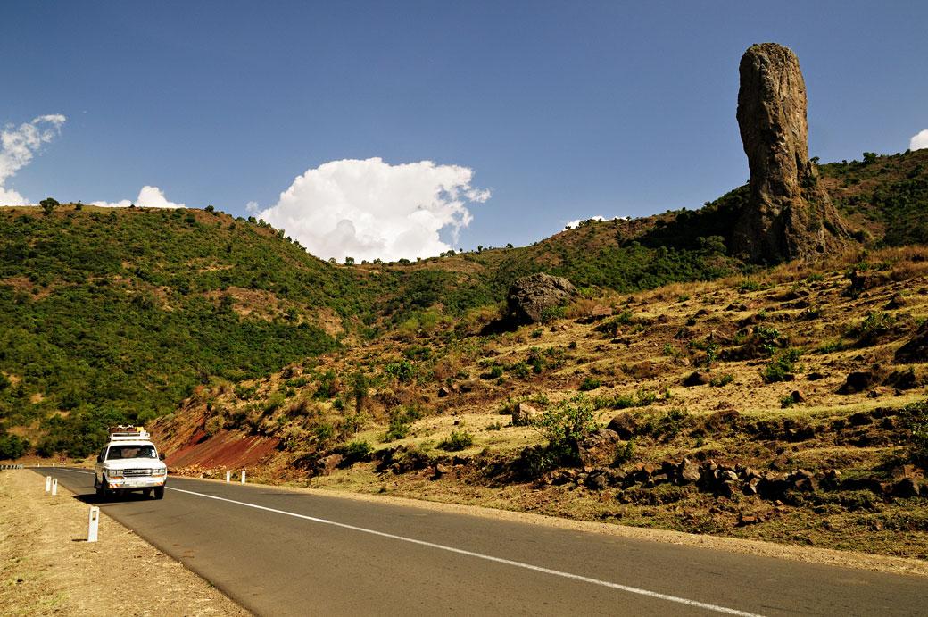 Le doigt de Dieu au bord de la route, Ethiopie