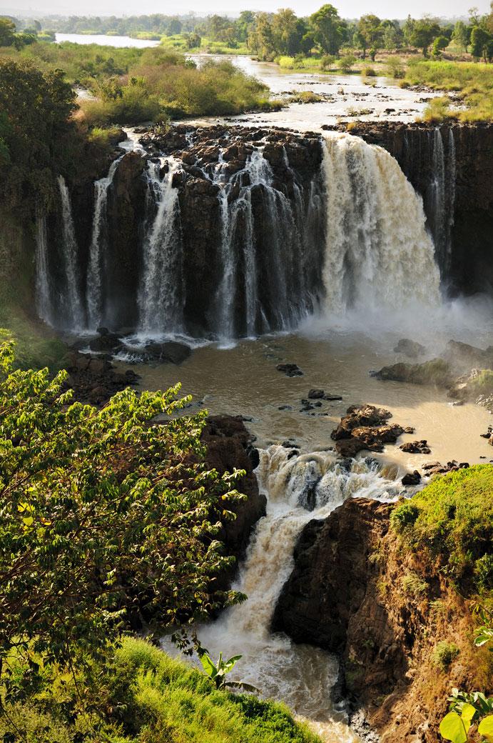 Tis Abay, les chutes du Nil bleu, Ethiopie