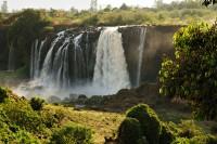 Près des chutes du Nil bleu, Ethiopie