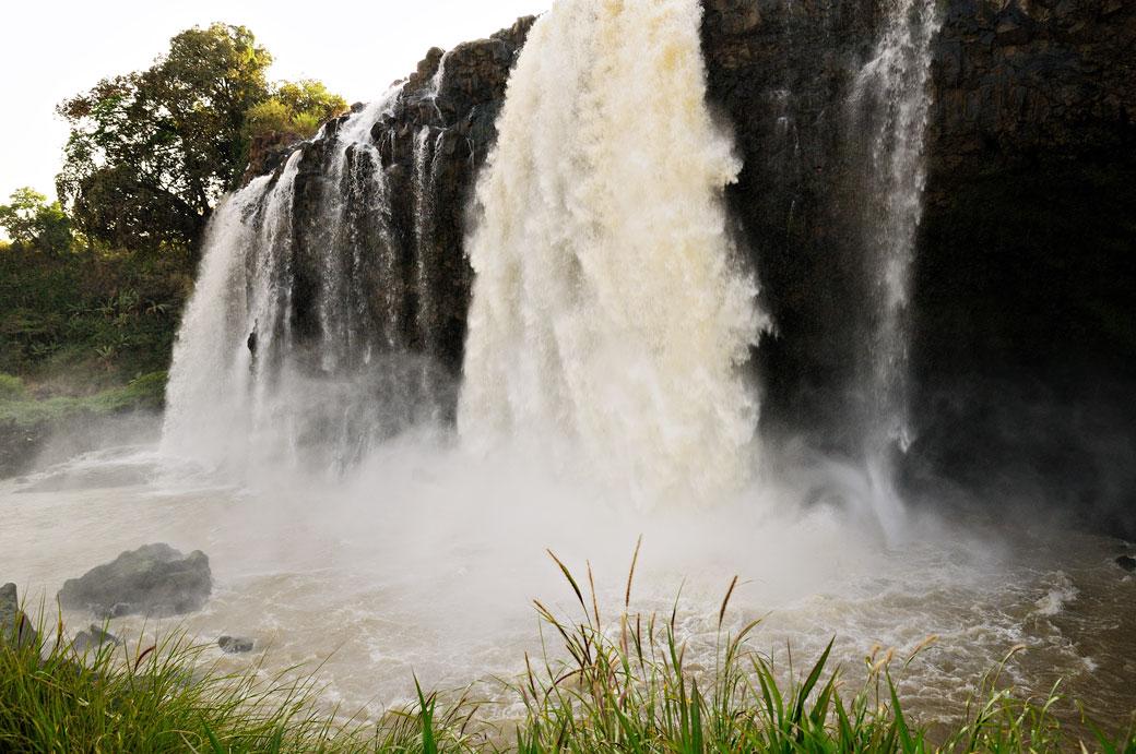 Au pied des chutes du Nil bleu, Ethiopie
