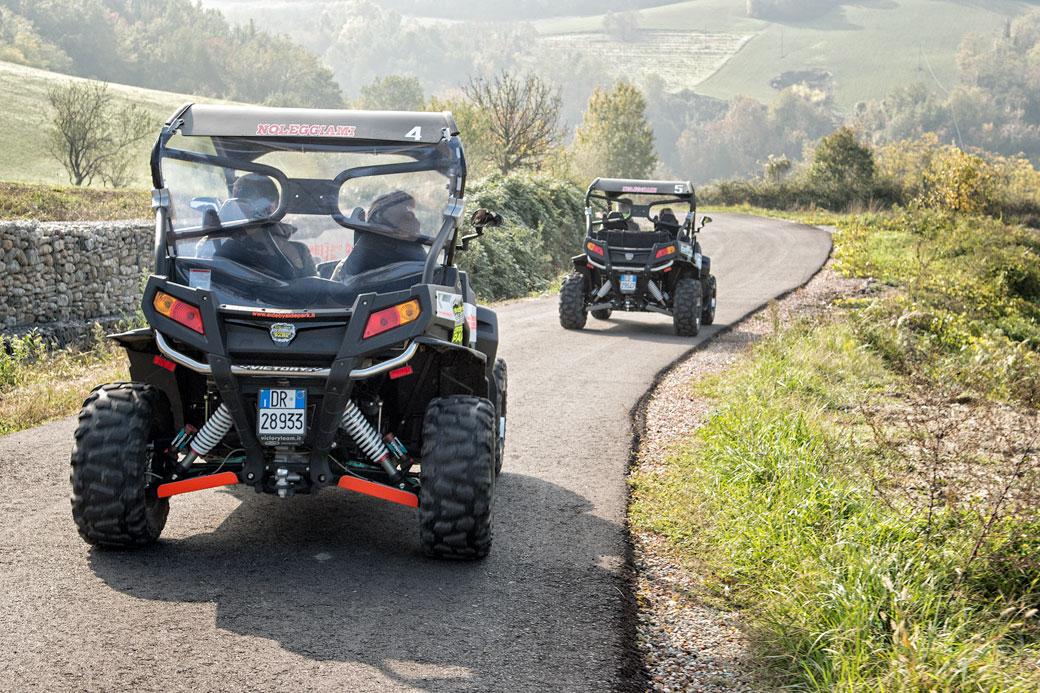 Découverte de l'Oltrepò pavese en buggy, Italie