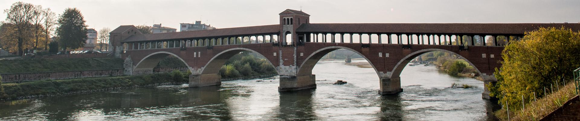 Top image Ponte Coperto de Pavie