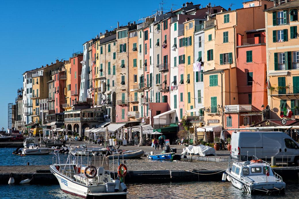 Le village coloré de Portovenere, Italie