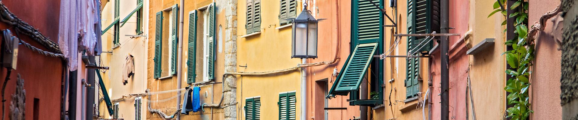 Top image maisons colorés de Portovenere