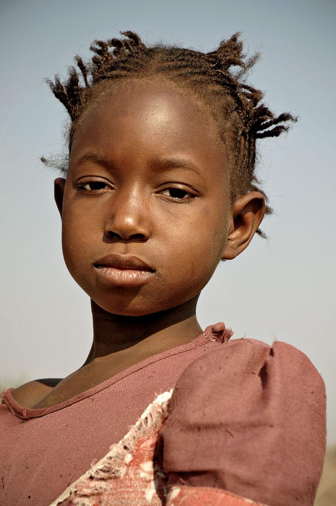 Portrait d'une jeune fille, Zambie
