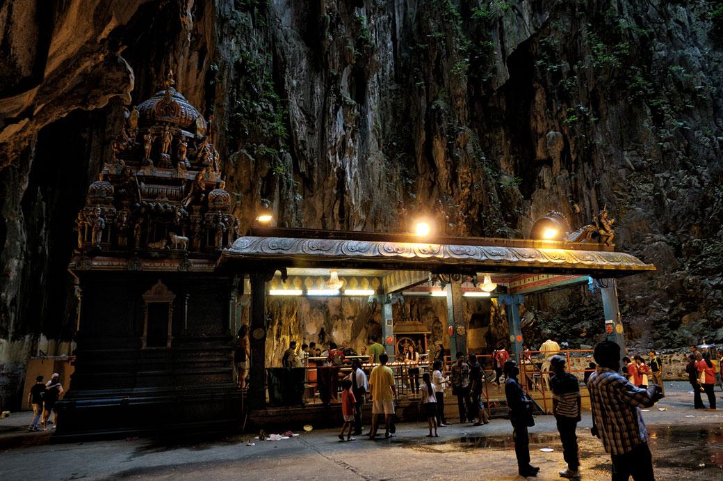 Temple hindou aux grottes de Batu à Kuala Lumpur