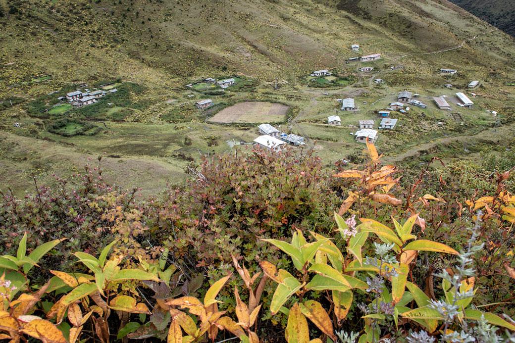 Le village de Lingshi, Bhoutan