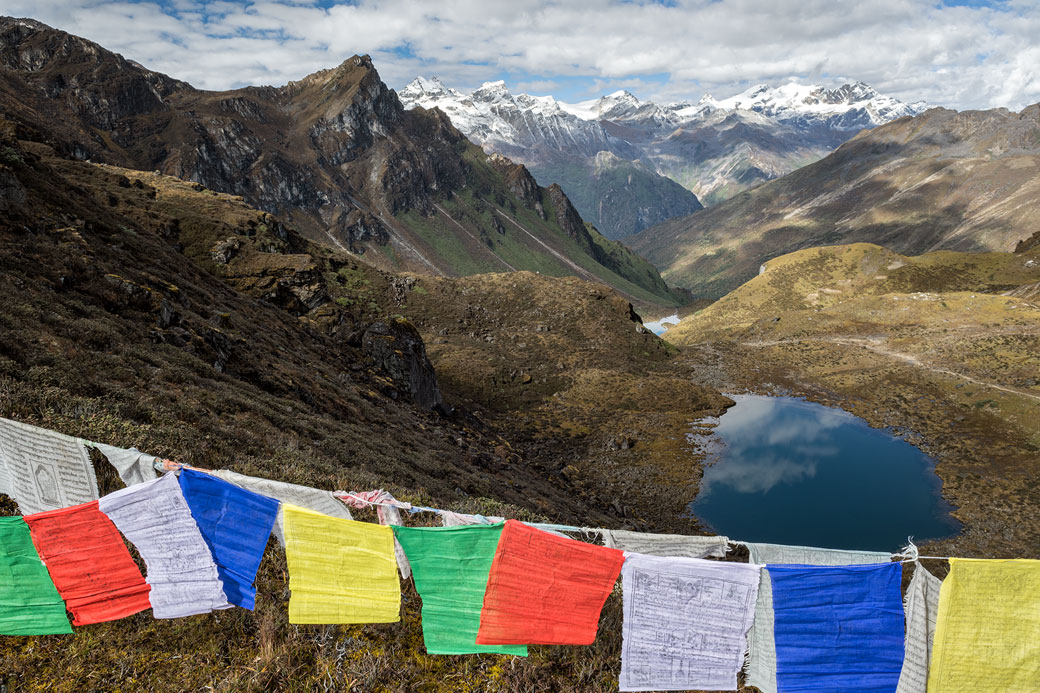 Panorama depuis le col de Keche La, Bhoutan