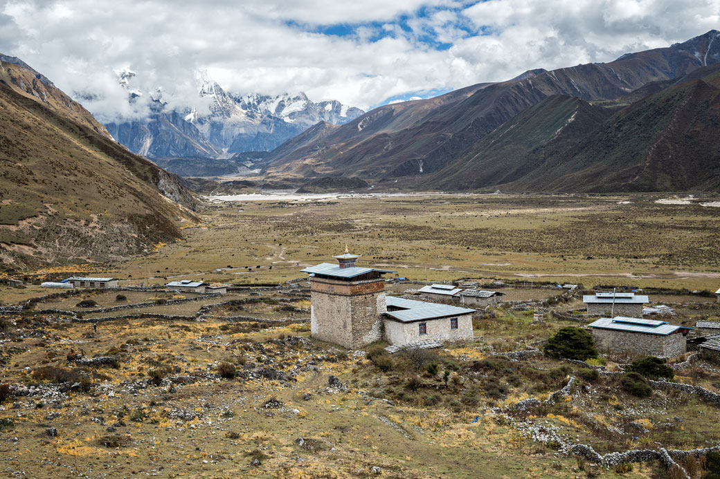 Dzong et vallée de Chozo, Bhoutan