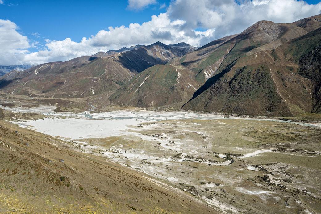 Montagnes de la région de Lunana, Bhoutan