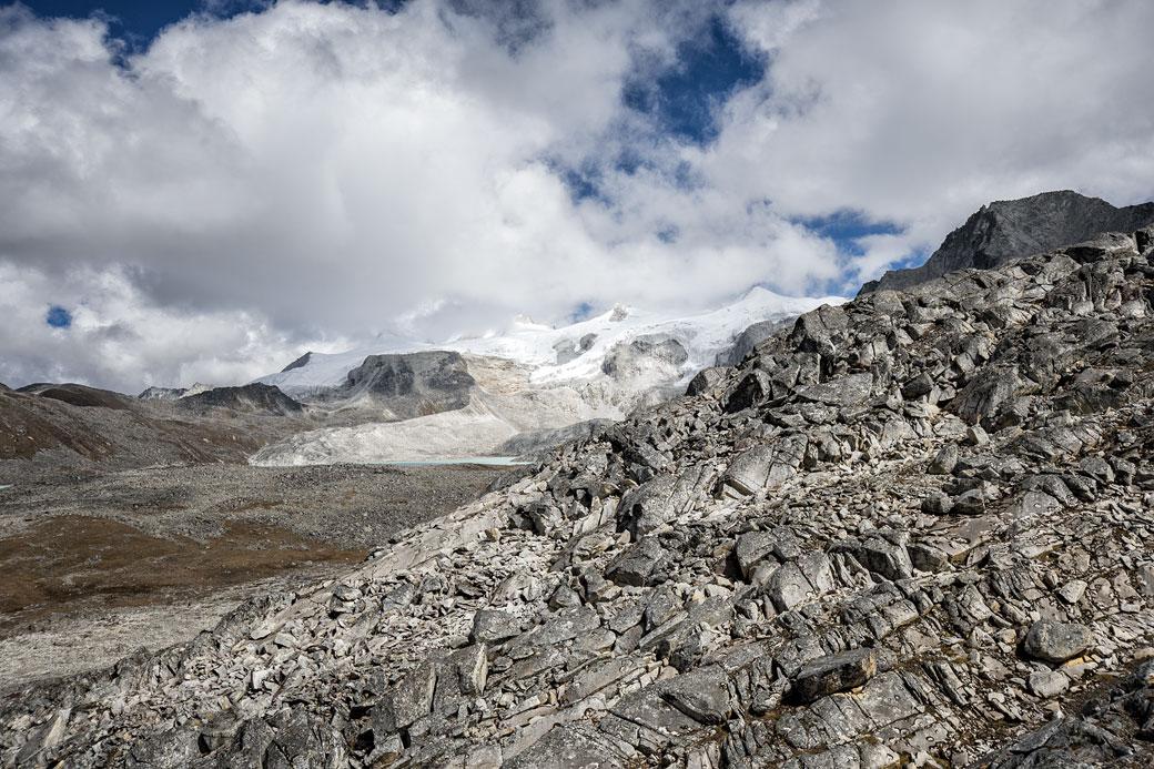Montagnes depuis le col de Loju La, Bhoutan
