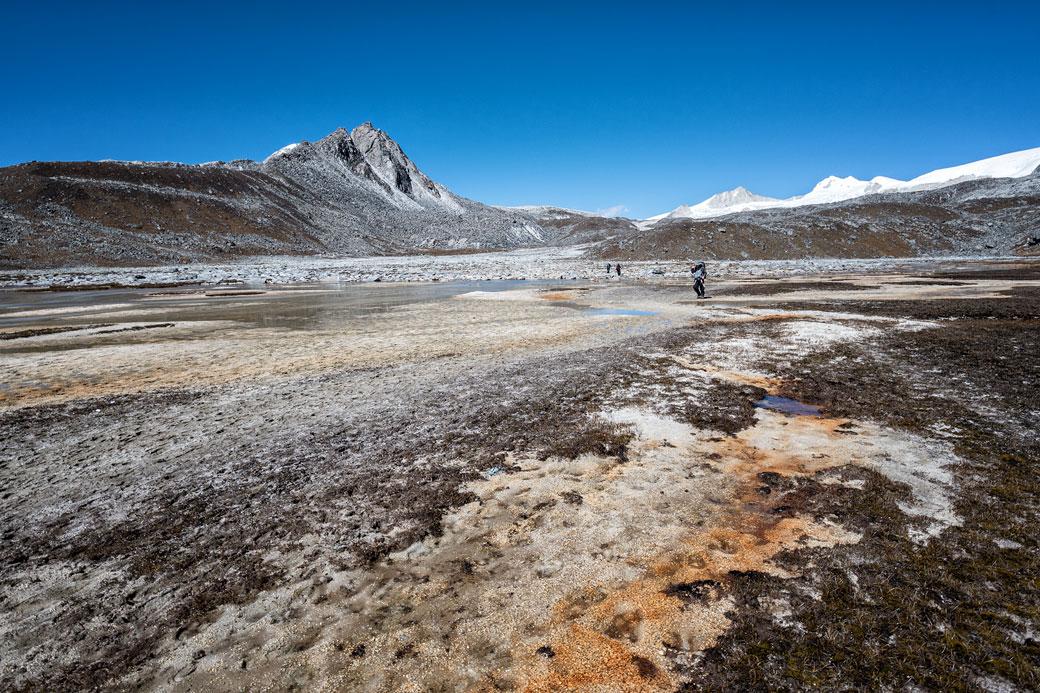 Plateau d'altitude entre Rinchen Zoe La et Chukarpo, Bhoutan