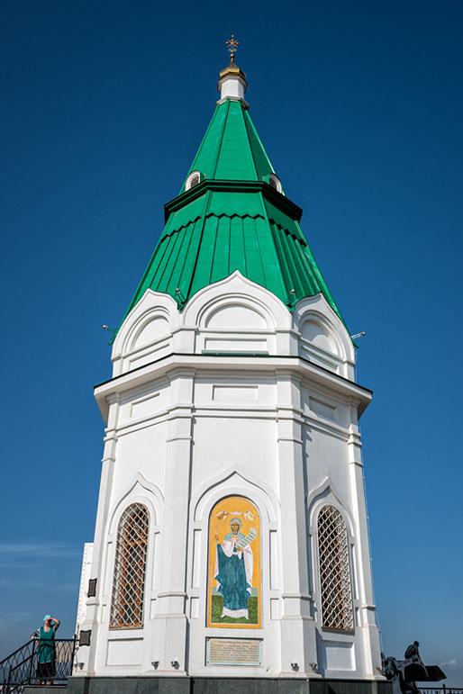 Chapelle Paraskeva Pyatnitsa à Krasnoyarsk, Russie