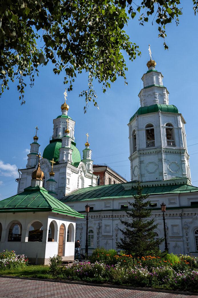 Cathédrale de l'Intercession à Krasnoyarsk, Russie