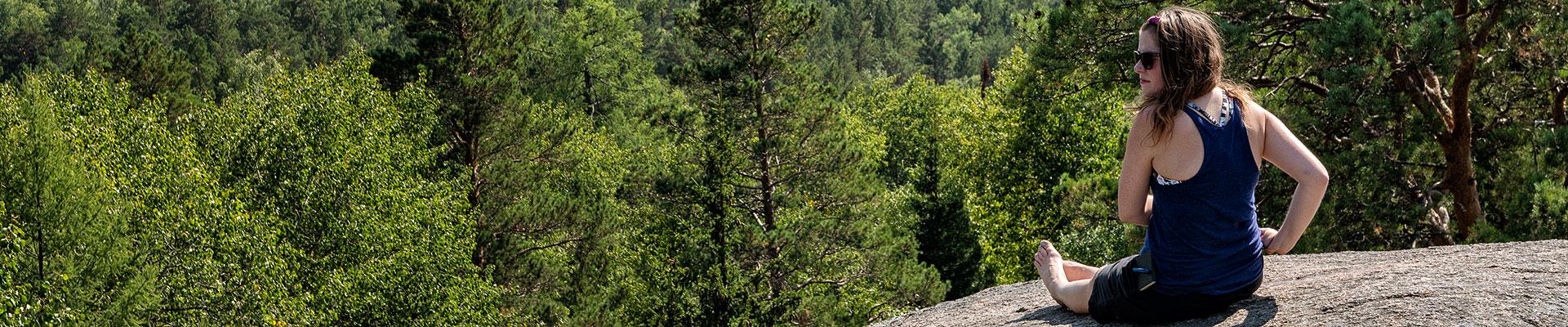 Top image réserve naturelle de Stolby, Russie
