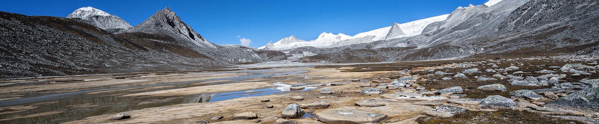 Top image montagnes Snowman Trek
