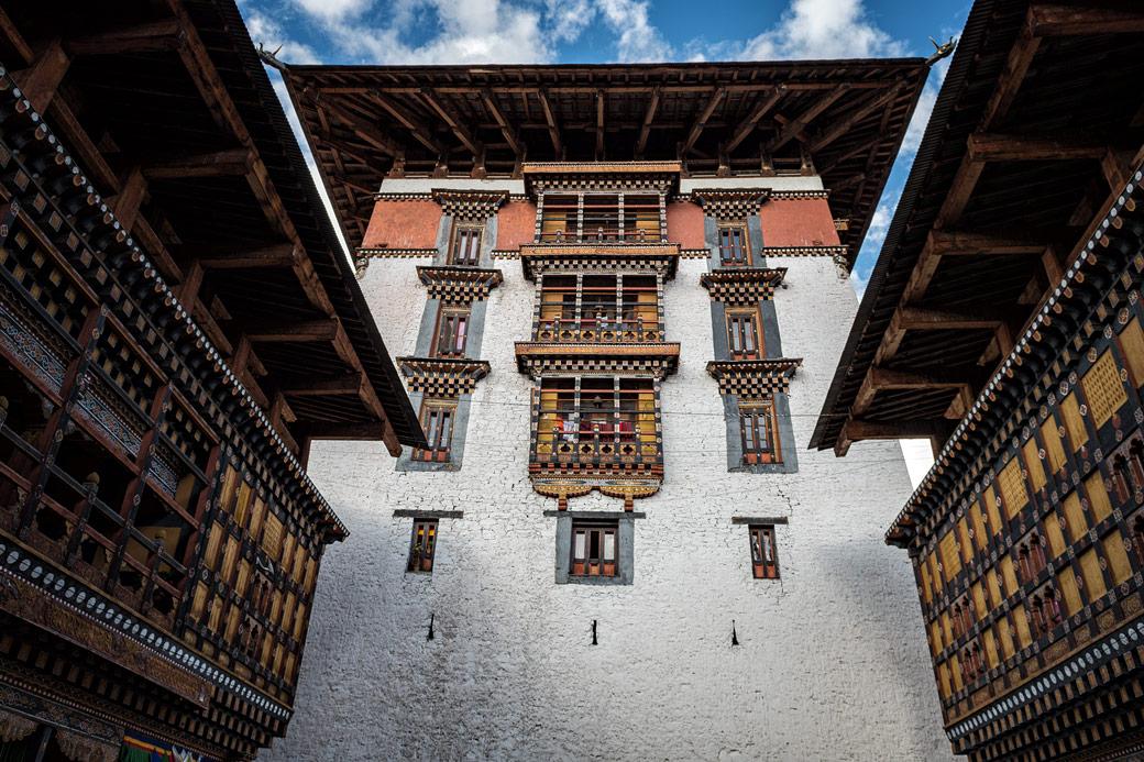 Tour du dzong de Paro, Bhoutan