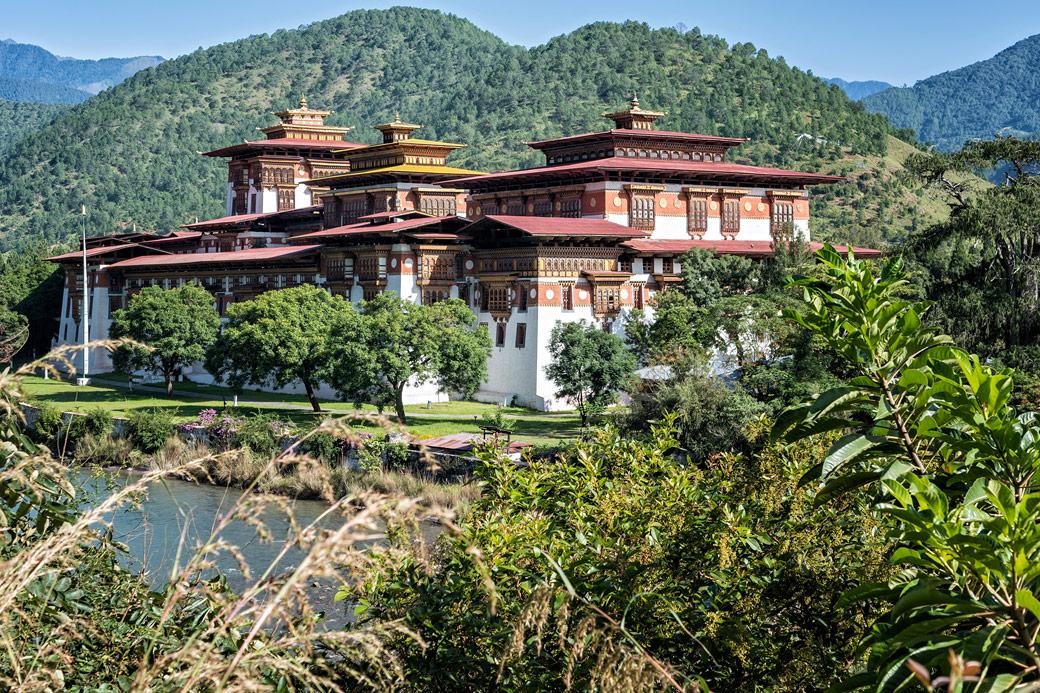 Le dzong de Punakha, Bhoutan