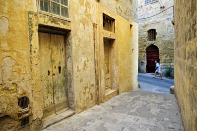 Ruelles de Birgu, Malte