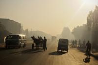 Premiers rayons sur Bahir Dar, Ethiopie