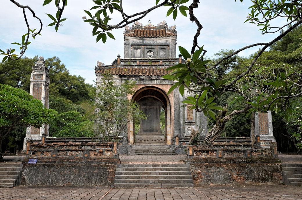 Pavillon de la stèle au tombeau de Tu Duc, Vietnam