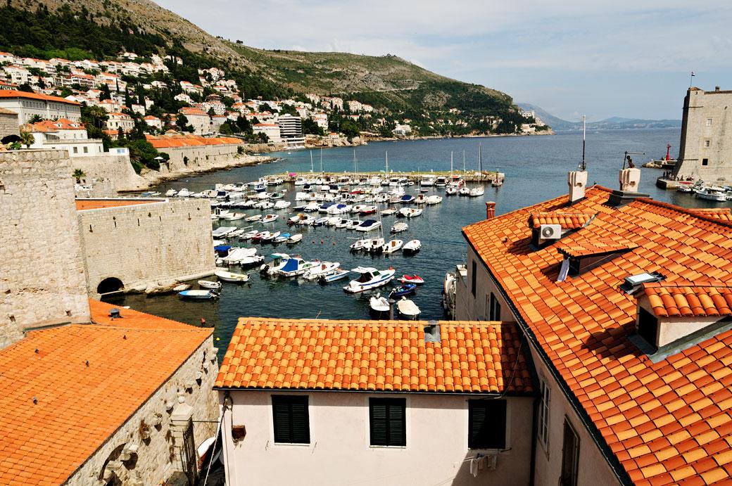 Vieux port de Dubrovnik, Croatie