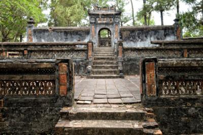 Tombeau de Kien Phuc neveu de l'empereur Tu Duc, Vietnam