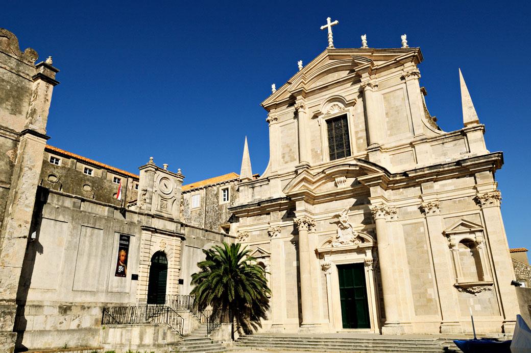 Église Saint Ignatius à Dubrovnik, Croatie