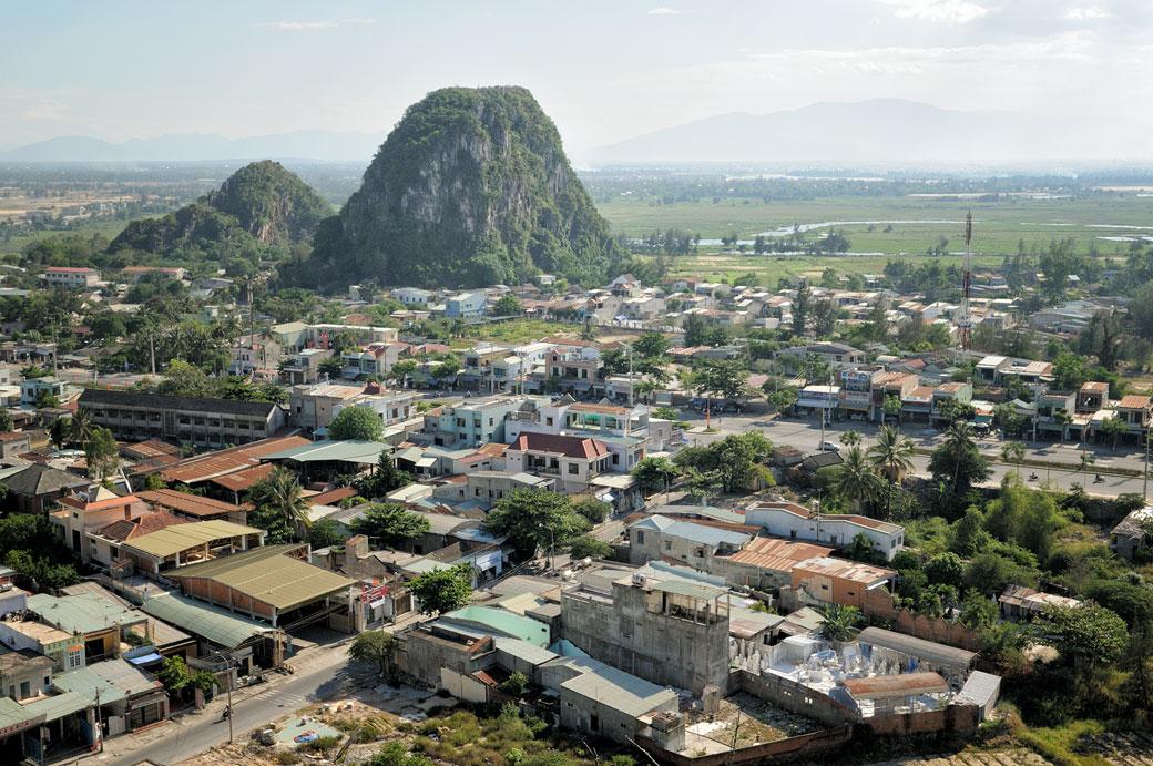Une des Montagnes de Marbre près de Da Nang, Vietnam