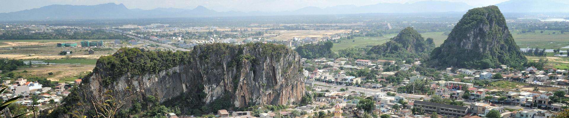 Top image Montagnes de Marbre de Da Nang, Vietnam