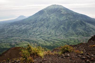Villages au pied du Gunung Merbabu, Indonésie