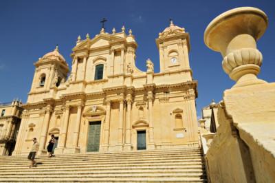 Cathédrale baroque de Noto en Sicile, Italie