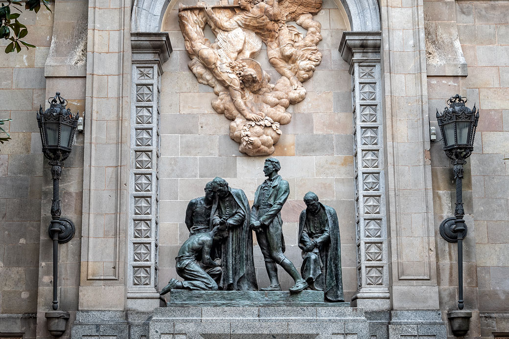 Monument aux héros de 1809 à Barcelone