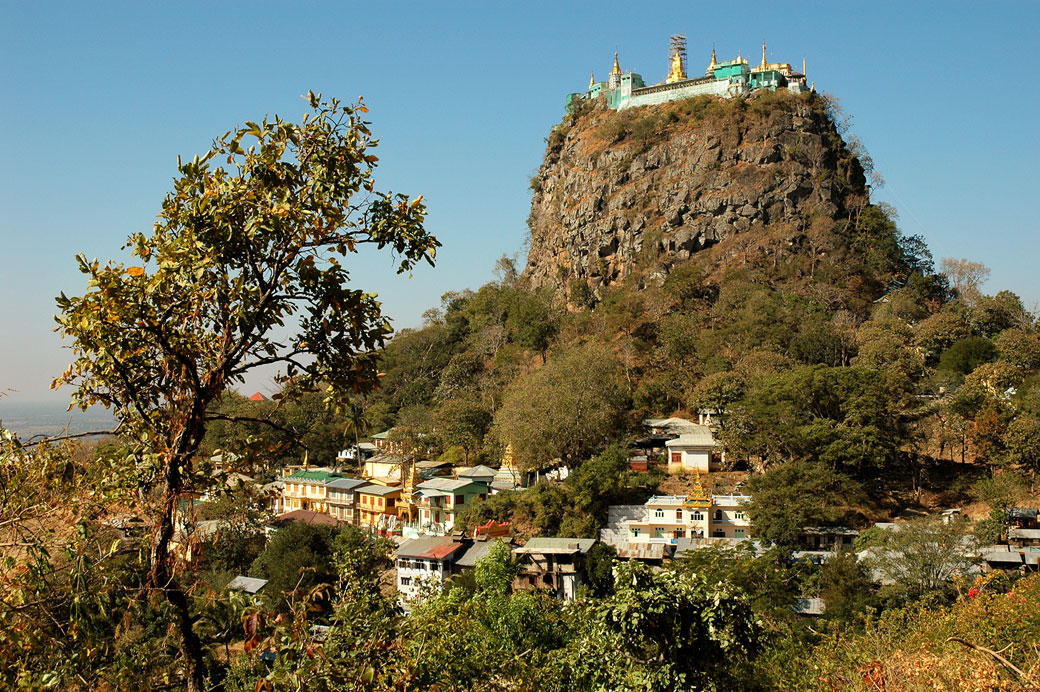 Monastère du Mont Popa (Taung Kalat), Birmanie